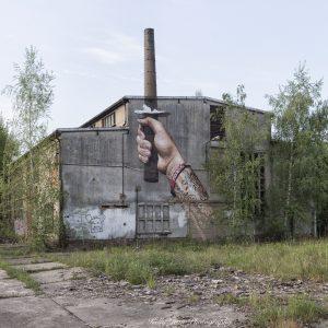 Graffiti fabriek